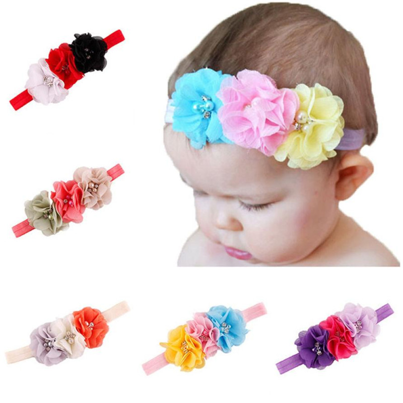 Fashion TELOTUNY 2018 Cute Baby Kids Girls Toddler Mini Pearl Headband Band Accessory For Baby Girls Headwear FEB9
