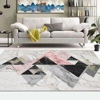 3D Chinese Style Artist Landscape Rug Living Room Carpets Sofa Mat Large Rugs Study Bedroom Bedside Cabinet Blanket Yoga Mat Pad