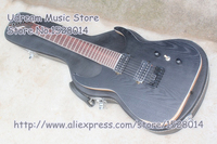 Hot Selling Black Matte Finish Suneye Blackmachine B2 7 String Guitars Electric For Sale