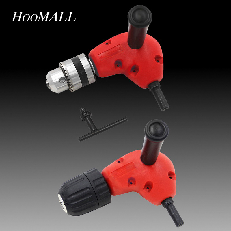 Hoomall 1pc 90 Degree Right Angle Rotor Driver Screwdriver Right Angle Turning Device Drill Bit Extending Power Tool Accessories ninth world new single handlealuminum 90 degree right angle clamp angle clamp woodworking frame clip right angle folder tool