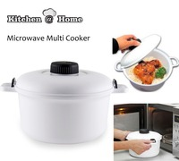 Neat Ideas Microwave Multi Cooker 2 5L Pressure Cooker Food Grade Plastic Cookware Kitchen Gadget