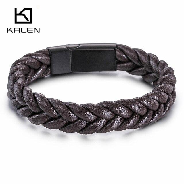 Kalen Black Twist Braided...