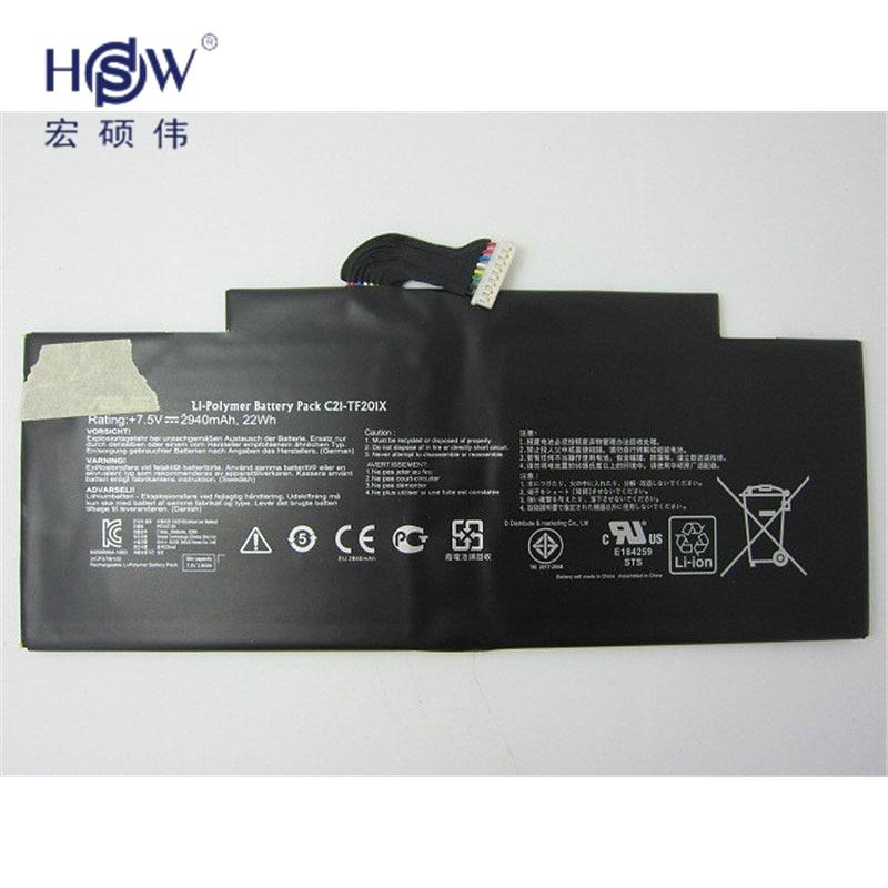 Prix pour Batterie d'origine 7.5 V 22WH pour Asus EeePad TF201 C21-TF201X TF300 Ordinateur Portable batterie bateria akku