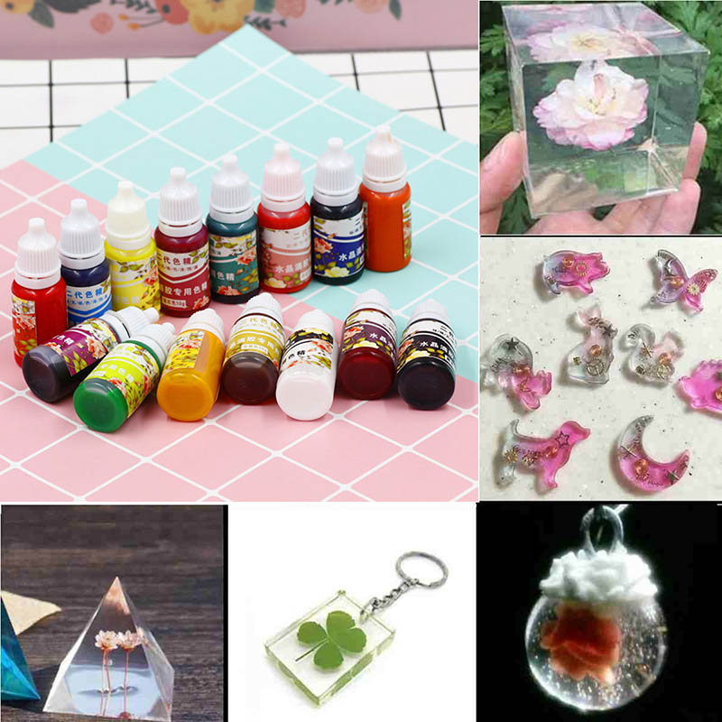 Hot High Concentration UV Resin Liquid Pearl Color Dye Pigment Epoxy For DIY Jewelry Making Crafts Jewelry Making Sieraden Maken