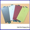 10 Pcs /Lot . Original Housing Back Cover Case Rear Battery Glass Door For Sony Xperia Z5 Compact Z5 mini E5803 E5823  +Logo