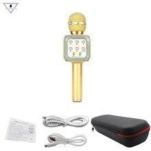 WS-1818 Wireless Karaoke Microphone Bluetooth with Hifi Speaker Portable Karaoke Machines Handheld, Compatible with iPhone iPad стоимость
