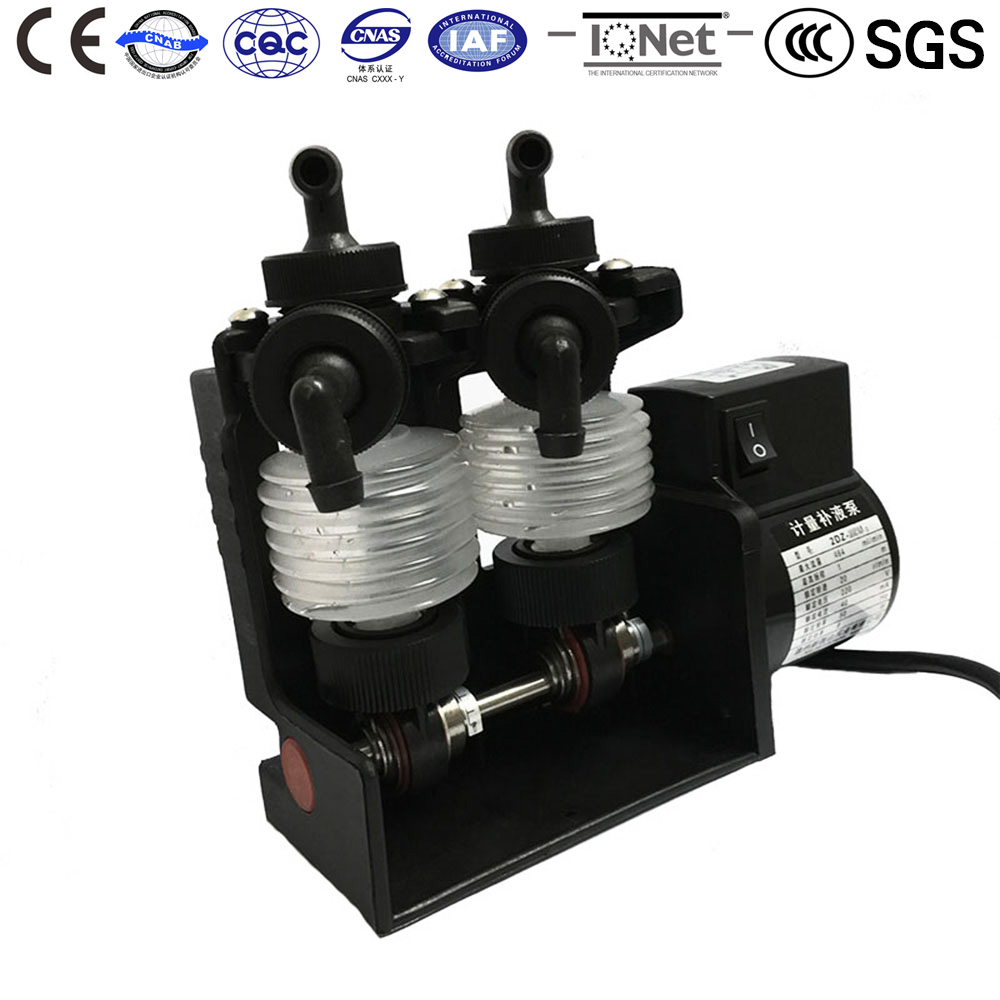 Chemical Metering Water Pump 2DZ 2XU2 220V AC widely used in microfilm x ray film Noritsu