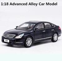 1:18 advanced сплава модели автомобилей, высокая моделирования Teana Оригинальные заводские модели, металл Diecasts, детская игрушка, бесплатная достав