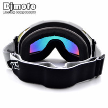 BJMOTO Winter Goggles Men Women Snow Skiing Snowboard Glasses Motocross Sking Boarding Offroad Ski