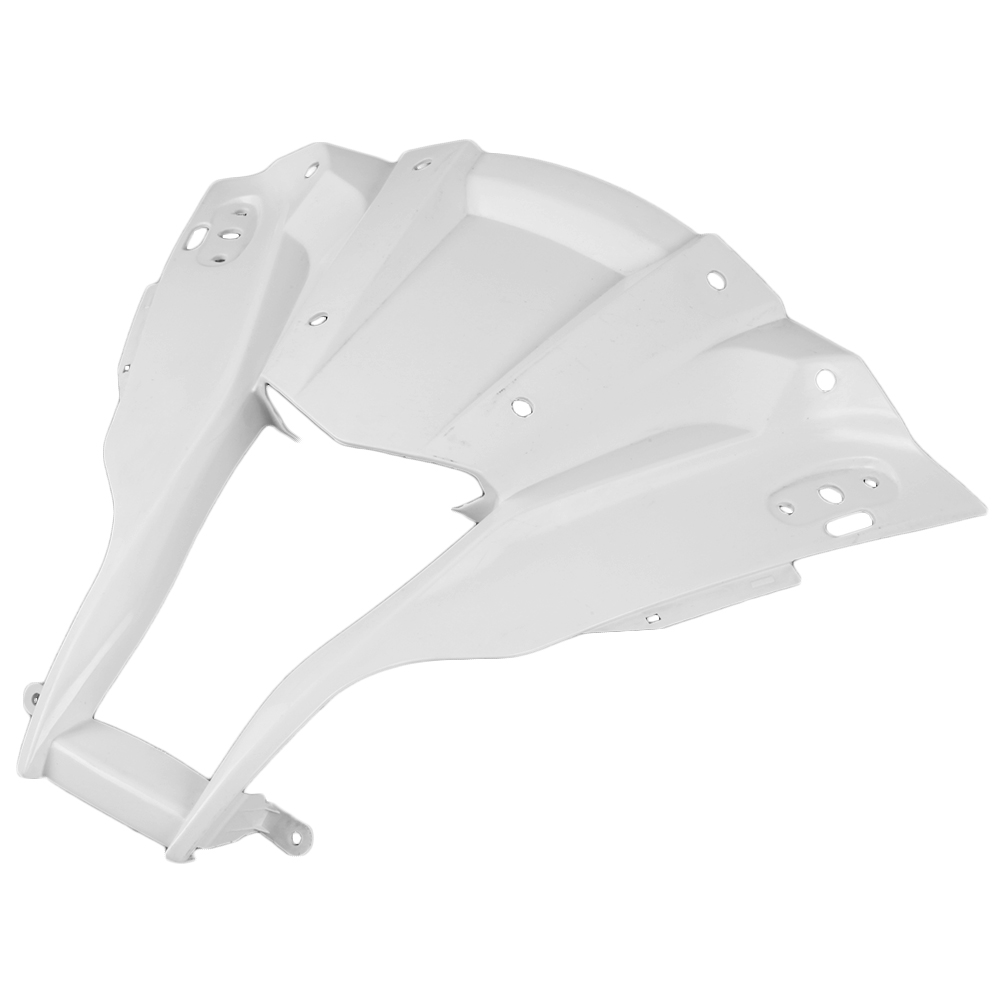 For KAWASAKI NINJA ZX10R ZX-10R Upper Front Nose Cowl Fairing 2011 2012 Motorbike Accessory Injection Mold ABS Plastic UnpaintedFor KAWASAKI NINJA ZX10R ZX-10R Upper Front Nose Cowl Fairing 2011 2012 Motorbike Accessory Injection Mold ABS Plastic Unpainted