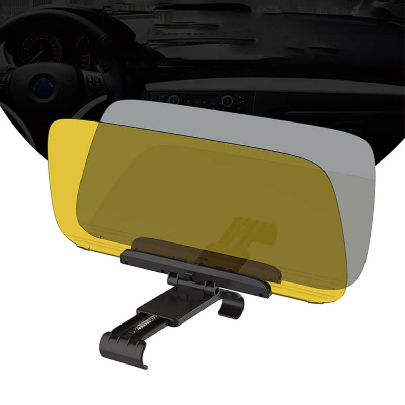Image 4 - New Car Day Night Sun Visor, Car Sun Visor Extender, Sunshade Guard For Front Seat Driver Passengers-in Driver Goggles from Automobiles & Motorcycles