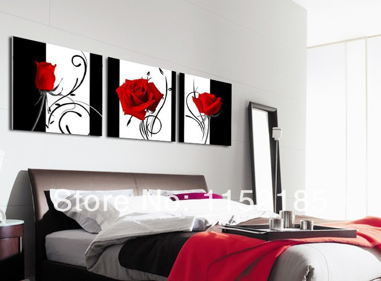Black And Red Wall Art compare prices on black and red wall art- online shopping/buy low