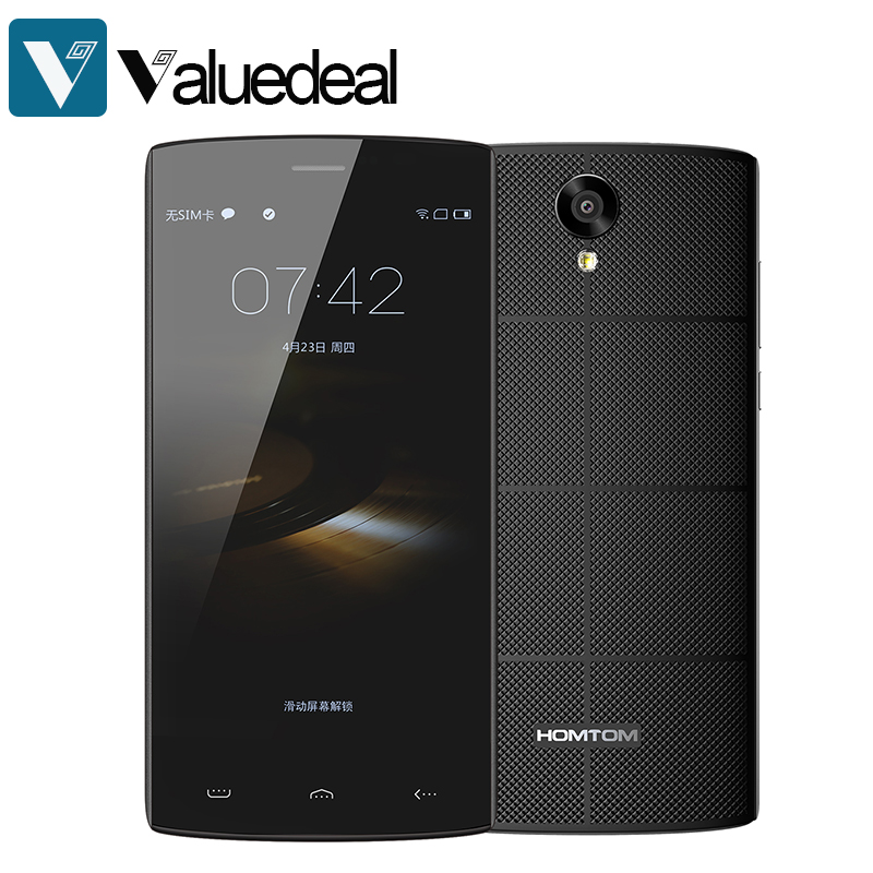 bilder für Original homtom ht7 5,5 zoll hd-bildschirm mtk6580 quad core android 5.1 1 gb ram 8 gb rom 3000 mah dual sim smartphone
