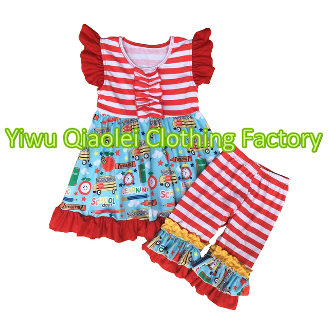 4fb558d27bf10 Bulk wholesale kids clothing school outfit import clothing from china girls  clothing