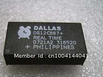 Free Shipping Wholesale/Retail 100% New and Orignal MAXIM/DALLAS DS12C887 IC DS12C887 REAL TIME CLOCK NEW 20pcs/Lot