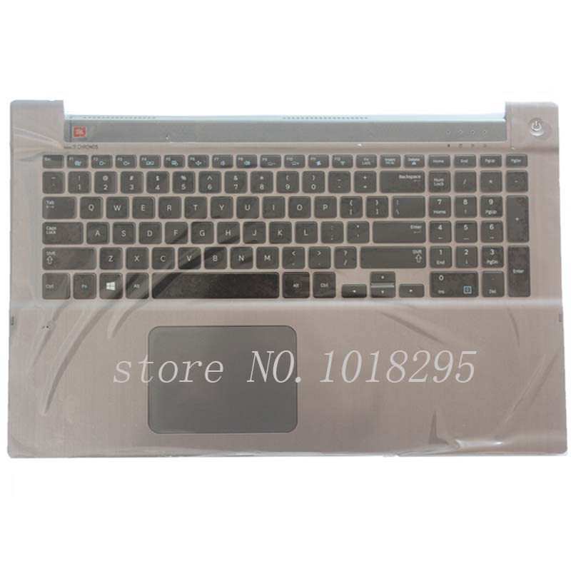 NEW English For Samsung NP700Z7A NP700Z7B NP700Z7C Backlit keyboard US laptop keyboard with C shell hot new original keyboard for samsung q530 laptop keyboard us free shipping