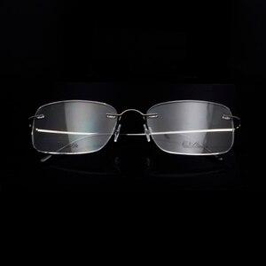 Image 4 - Titanium Eye Glasses Frame for Men  Frameless Rimless Glasses Optical Frame Eyeglasses Women High Quality Square Spectacles
