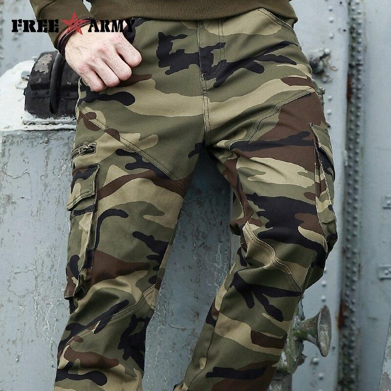 Autumn Brand Men Fashion Military Cargo Pants  1