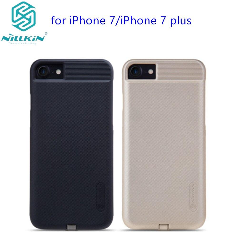 imágenes para Nillkin Magia para iphone 7 Nillkin Qi Cargador Inalámbrico Cubierta de la Caja Del receptor Transmisor de Carga de Energía Para el iphone 7 más 7 +