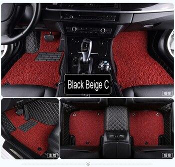 Fox floor liners for Audi A3 A4 A5 A6 allroad A7 A8 A8L Q3 Q5 Q7 5D waterproof all weather carpet 5D car floor mats