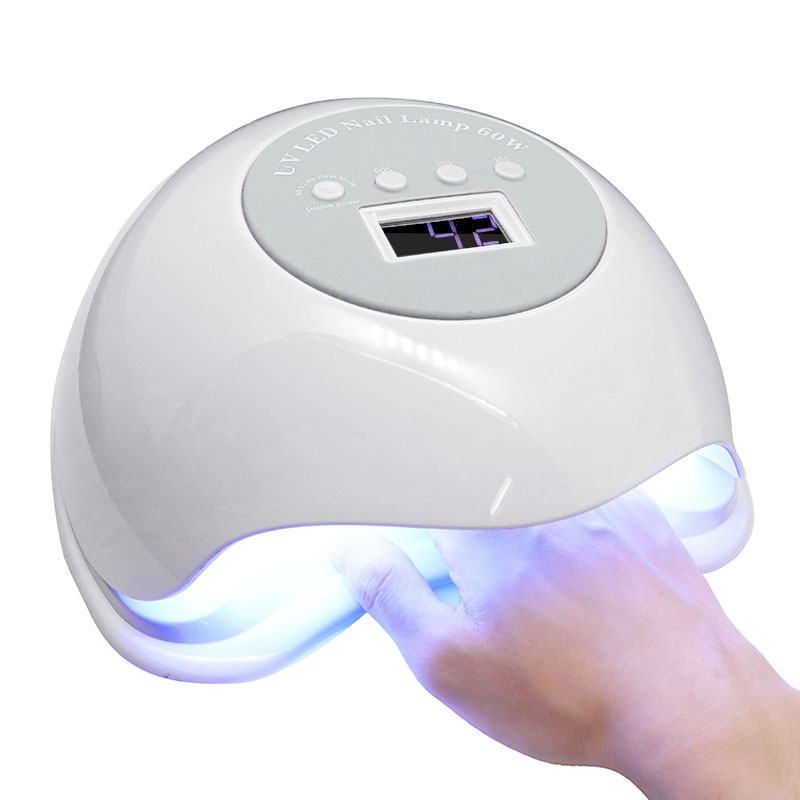 2018 Top fashion 60W Built-in Fan LED UV Lamp Nail Dryer Powerful Nail Gel Curing Drying Lamp Light for Both Hand Nail Tool2018 Top fashion 60W Built-in Fan LED UV Lamp Nail Dryer Powerful Nail Gel Curing Drying Lamp Light for Both Hand Nail Tool