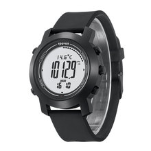 Updated Bravo 2S Smart Watch Mens Sports Watches 3D Pedometer 5ATM Waterproof Altimeter Barometer