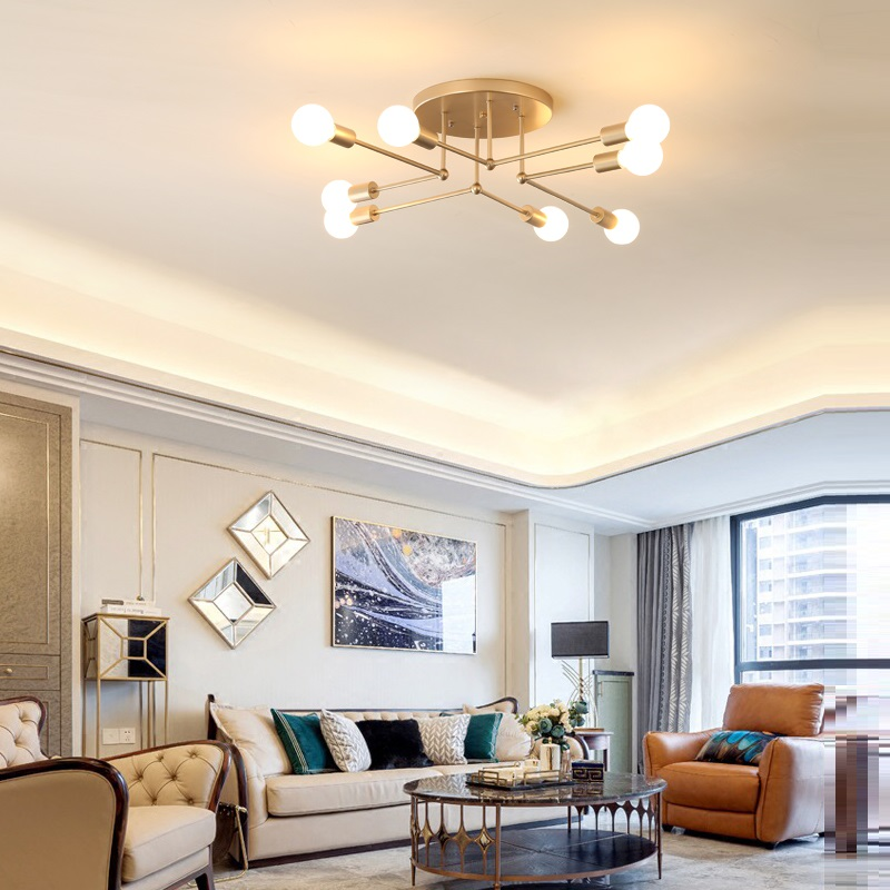 Modern LED Ceiling Light Living Room Bedroom living room Creative Home Lighting Fixtures AC110V 220V Free