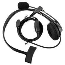 2-pin headphone headset TK220 for Jianwu Baofeng UV-5R BF-888S Retevis H777 PUXING TYT interphone C9009 jianwu 1pc 15mmx5m black
