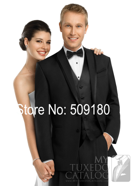 High Quality Customized Wedding Tuxedo Male Suit Design 5 pieces(Coat+Pants+Vest+TieShirt) TZ72925 Tuxedos For Men In Black