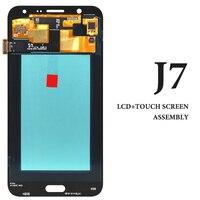 5pcs For Samsung J7 2015 J700 J700F J700FM J700M LCD White Black Gold Screen 5 5