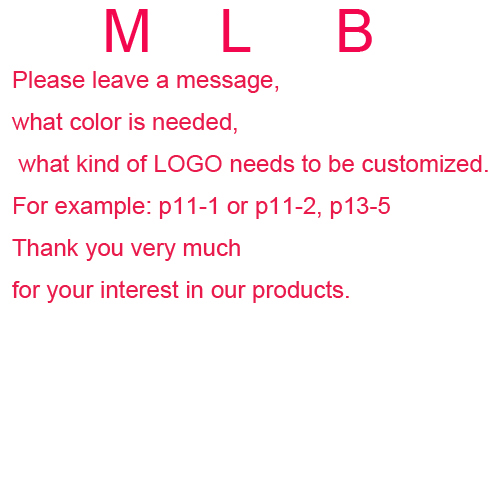 M L B logos can be customized
