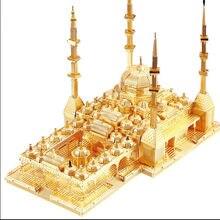 3d puzzles de metal diy modelo de coração da chechénia mosquekit crianças quebra-cabeças brinquedos presente