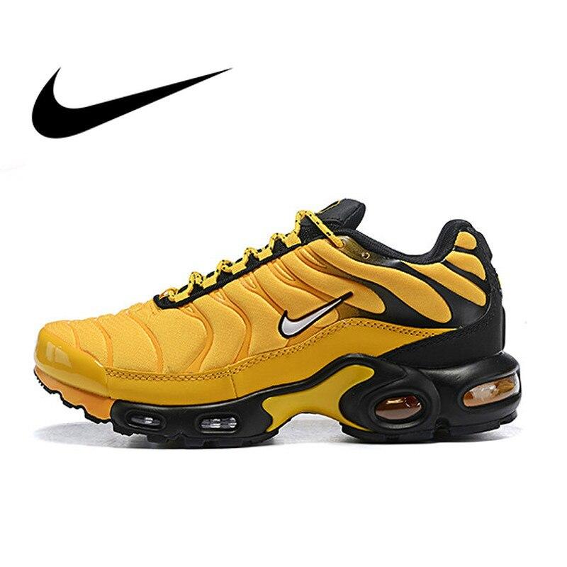 Original authentique Nike Air Max Plus chaussures de course pour hommes mode classique chaussures de sport respirant confort bonne qualité AV7940-700