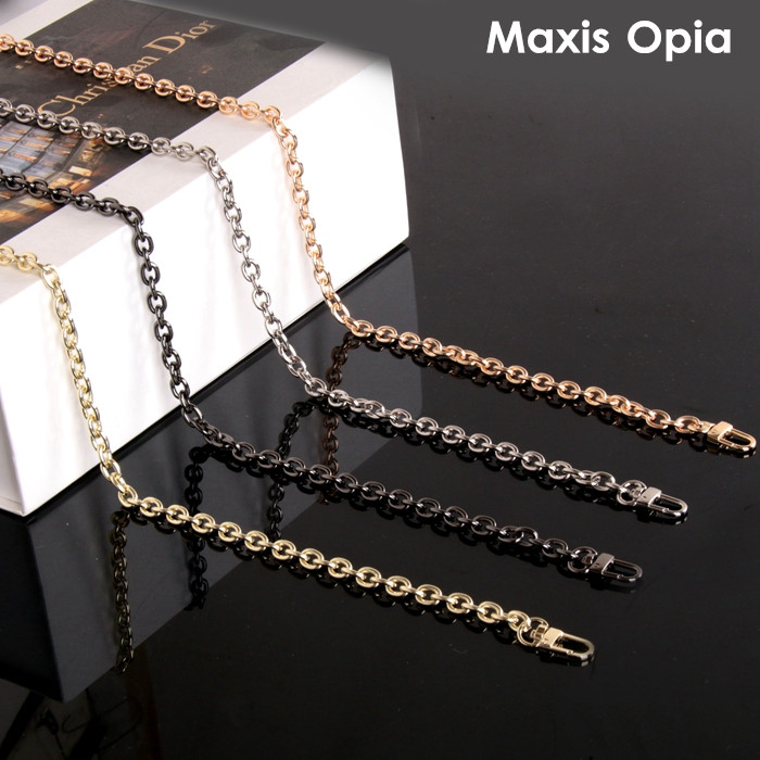 Bag Chain Purse Chain For Bag Metal Shoulder Chain Cross Body Strap Chain Anti Brass Siver Light Gold Gunmetal Strap Purse Frame