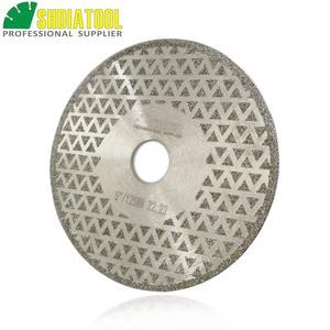 "Image 3 - SHDIATOOL 2pk 5"" Electroplated diamond cutting & grinding disc Bore 22.23 Diameter 125MM for marble granite tile ceramic"
