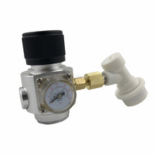 CO2 Mini Gas Regulator & Corny Keg Gas Ball Lock Disconnect for Beer Tap Homebrew GAS Regulator colorful beer beer machine accessories machine accessories special high grade carbon dioxide gas meter regulator specials