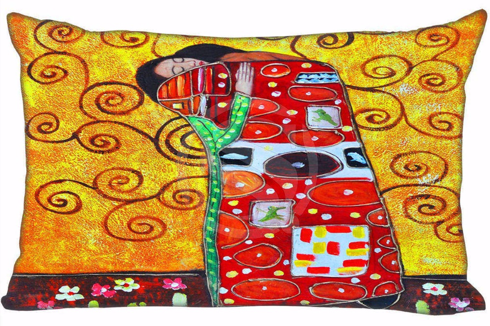 New painting #4 Pillowcase Custom Zippered Rectangle Pillow Cover Cases Size 35X45cm (one sides) T831&w#K19