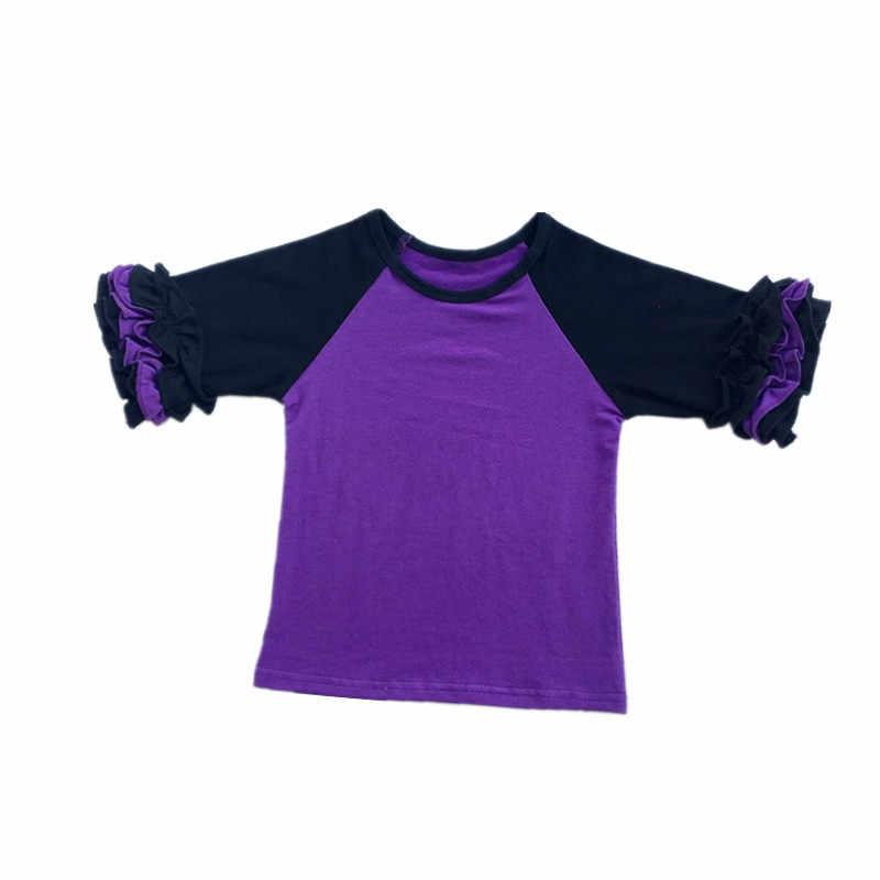 秋冬 Tシャツベビー服の女の子プリント長袖 tシャツカジュアル綿クリスマストップス子供の服