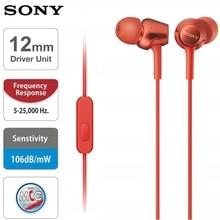 Origianl MDR-EX255AP 3.5mm In Ear Earphone Top Quality Sound Neodymium Drivers E