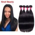Класс 8а необработанные индийский девы волосы прямые 4 шт./лот естественный цвет 10 - 30 дюймов девственницы индийские аннабель волосы расслоения сделок