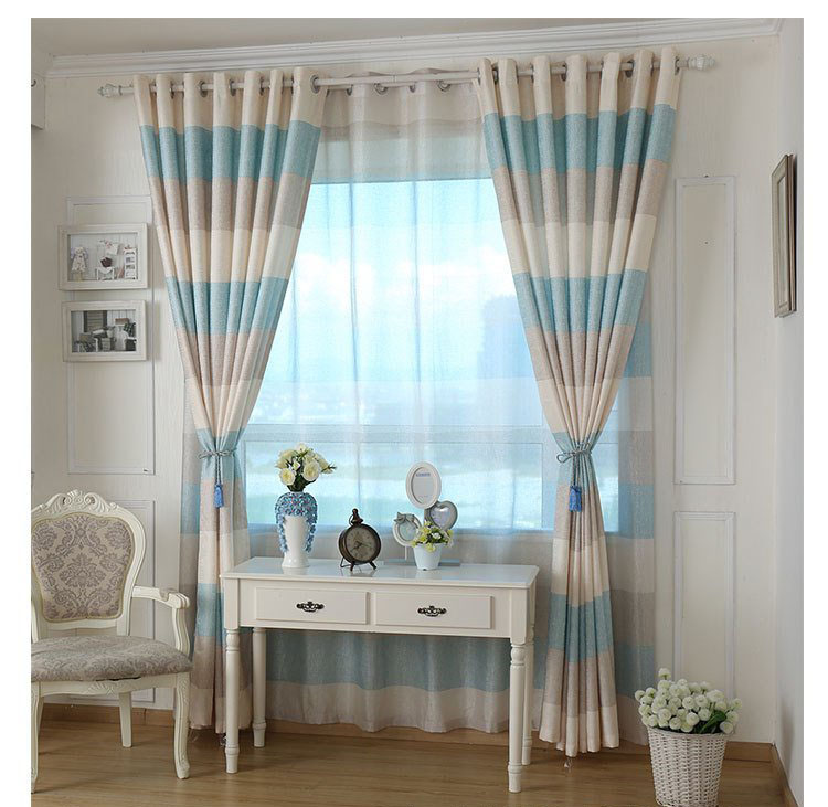 US $16.0 |Korean garden style cotton semi shade curtains living room  curtains cafe curtains for a variety of decor -in Curtains from Home &  Garden on ...