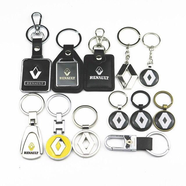 3D металлический ключ для авто брелок для Renault Megane 2 3 Duster Logan Clio Laguna 2 Captur автомобильные аксессуары Стайлинг автомобиля