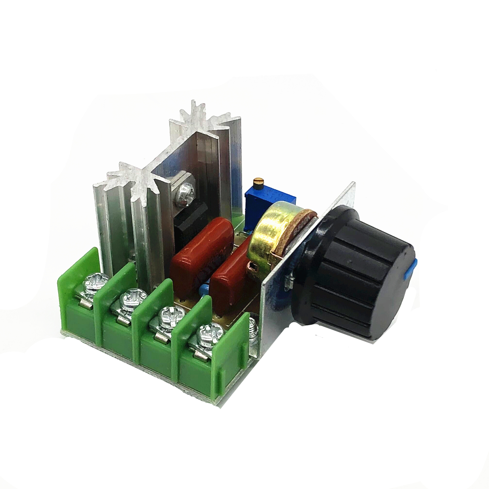 2000W AC Motor Speed Controller 50-220V 25A Adjustable Motor Speed Controller Voltage Regulator