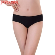 JAYCOSIN New Fashion Women's Solid Breathable Seamless Comfortable Briefs Underwear Dec28 Drop Shipping