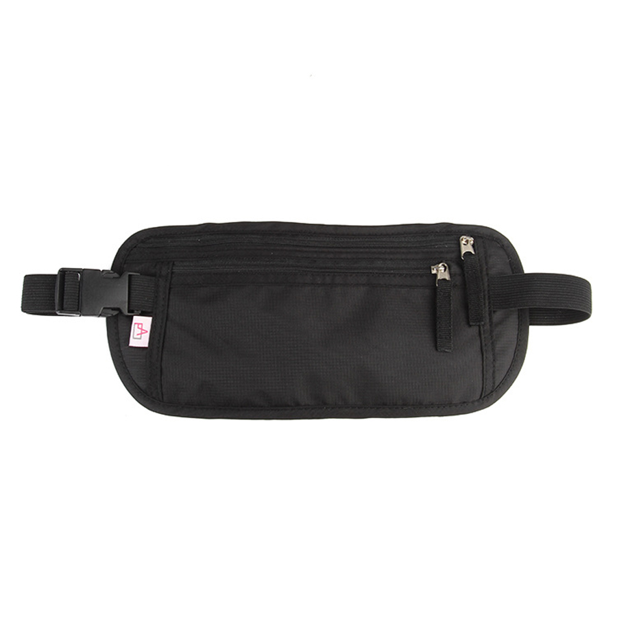 Fanny Pack RFID Blocking Waist Pack Lightweight Nylon Waist Bag  Waterproof High Capacity Money Belt For Women Men Waist Pouch