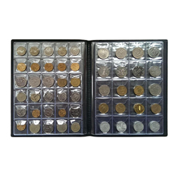 Hot Sale Coin Album 10 Pages fit 250 Units coin collection book Russian Language DropShipping