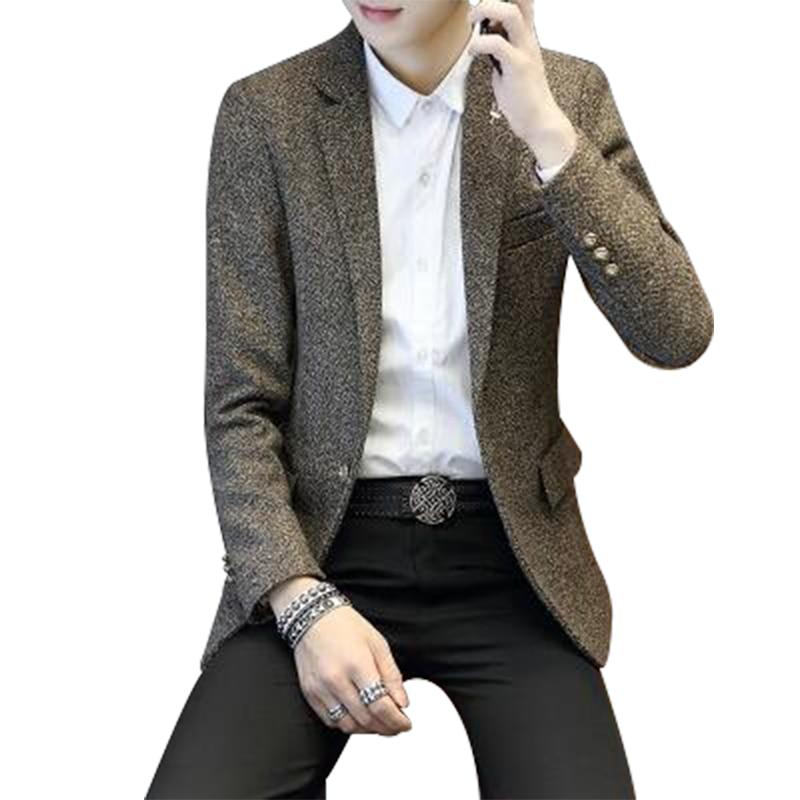 2018 Neue Mode Lässig Männer Mäntel Blazer Baumwolle Slim Korea Stil Anzug Herren Masculino Männlich Anzüge Jacke Blazer Mantel M-3xl Heißer