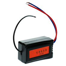 12V Power Supply Pre-wired Black Plastic Audio Power Filter for Car Noise Audio Filter Isolator Plastic,Metal все цены