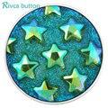 Joyería de Acrílico Más Nuevo Estilo de Arce Broche Botón Rivca Botón Snap Pulseras Para Las Mujeres de Europa Perlas de Navidad Regalos D03112