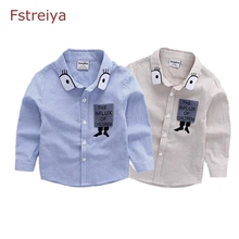 Fstreiya boys shirts for boy Striped shirt bobo choses kids tee shirt enfant garcon boys cotton spring 2018 shirt chemise garcon